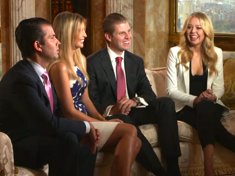 Trump Family Feud on White House Positions | ChandlerCraft ...